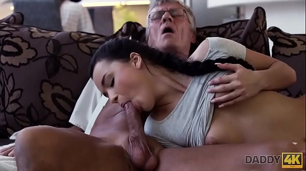 DADDY4K. Cock of mature dad satisfies girl's need in good dicking
