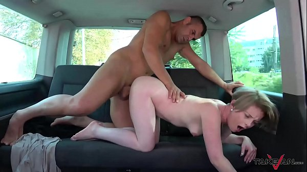 Non Experienced Too Curious Slut Banged Hard in a Take-van
