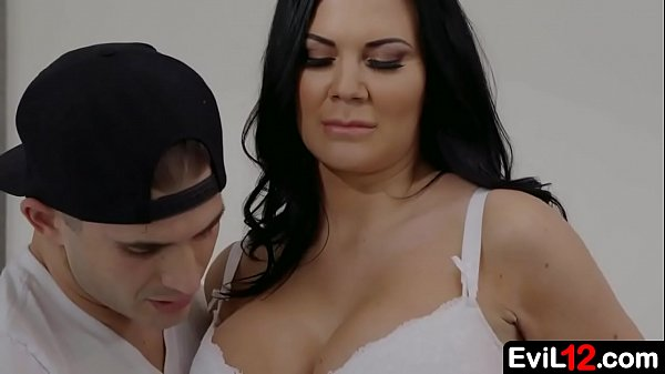 Dark haired busty stepmom fucks by her sexy stepson Thumb