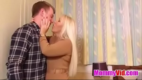 MommyVid.com - British mom Miss Makepeace seduce lucky son Thumb