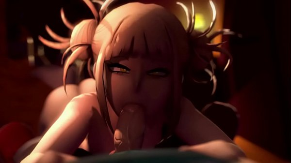 My Hero Academia Himiko Toga Sucks and Fucks Mi...