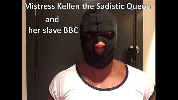 Mistress Kellen the sadistic queen and her slave BBC