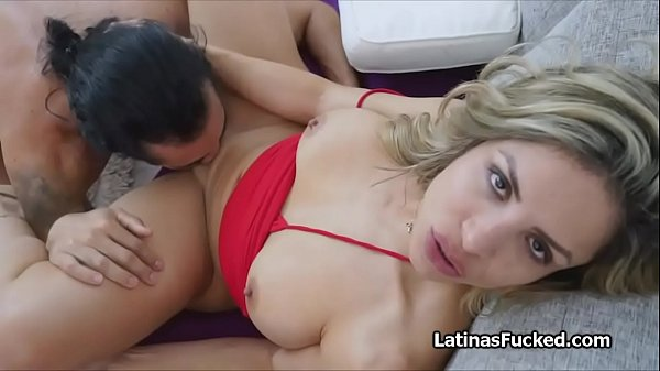 Big ass Colombian booty rides cock on audition