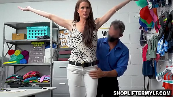Horny security guard Rusty Nails caught on CCTV fucking with hot MILF thief named Sofia Marie after she shoplifts some items from the store. Thumb