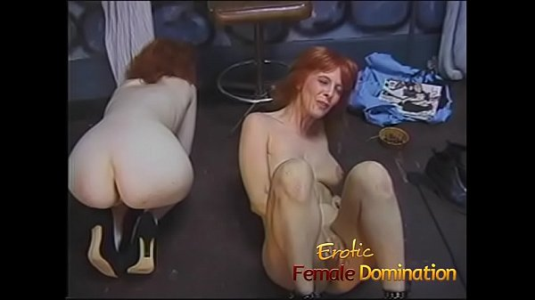 Beautiful slave girls embark on a journey through the den of submission Thumb