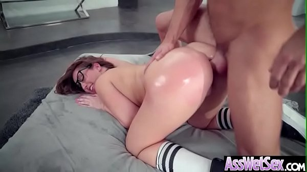 (Maddy Oreilly) Big Oiled Ass Slut Girl Love Hardcore Deep Anal Sex clip-21 Thumb