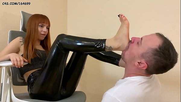 Cruel Young Mistress In Latex - Deep Foot Gagging Domination (Preview) Thumb