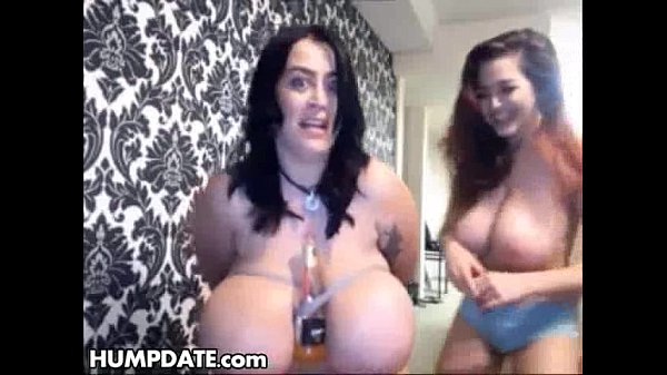 Lesbian babes with huge tits like BDSM
