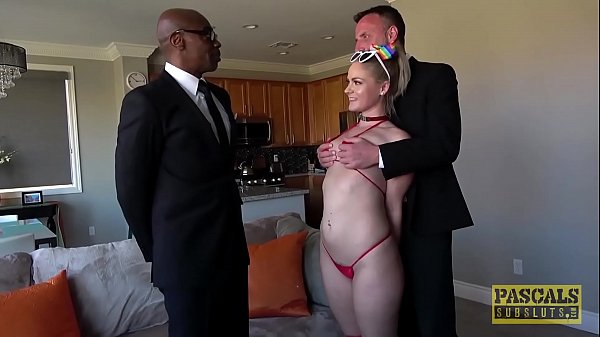 PASCALSSUBSLUTS - Subslut Lisey Sweet ass dominated by BBC