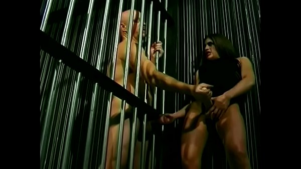 Bald jailbird begged his busty jackleg lawyer Aria to be habituated for prison customs Thumb