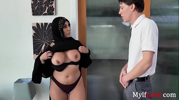 MILF In Hijab Craves For A Handyman's Cock- Kylie Kingston