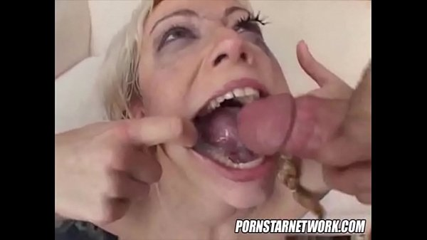 Spread mouth jizz wash compilation