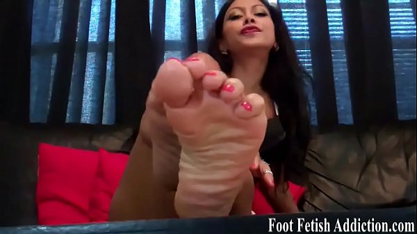 If you beg I might let you suck my toes