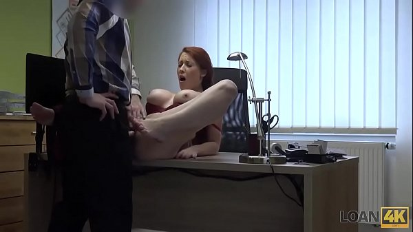 LOAN4K. Agent is ready to give busty hottie credit after fucking