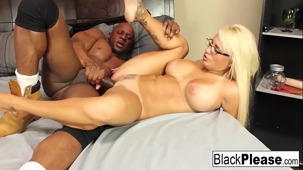 Busty blonde Jacky Joy keeps her glasses on during sex Thumb