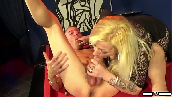 Hot Blonde Mom Fucking in The Billiard Room