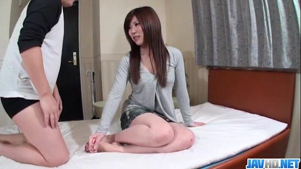 Nana Oshikiri feels powerful dick sliding her wet cunt Thumb