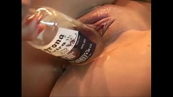 BEER TAP AND BOTTLE MASTURBATION