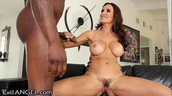 EVIL ANGEL Lisa Ann MILF Interracial DP Ass Fuck 3Way Hot Sex