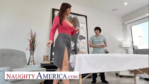 Naughty America - Syren De Mer Fucks her new ma...