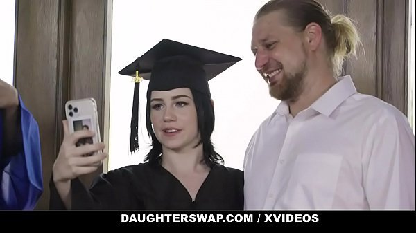 DaughterSwap - (Hazel Heart) And (Remi Jones) Just Got Ther Diplomas So They Want To Celebrate It With Daddys Dicks