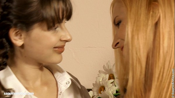 Minerva and Liona lesbians filmed by Sapphic Erotica