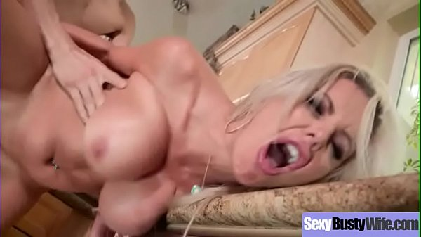 Big Round Tits Hot Wife (Nina Elle) Enjoy Hard Bang On Cam video-20