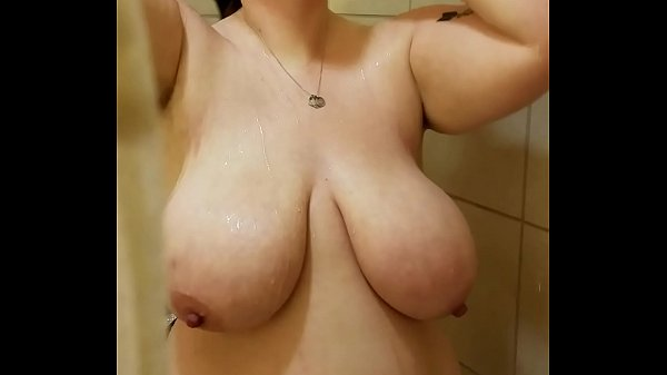 Brunette Wife Natural Tits