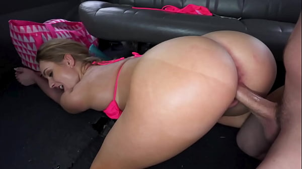 BANGBROS - Blonde PAWG Katia Visits The 305 For Spring Break, Finds Herself In The Bang Bus