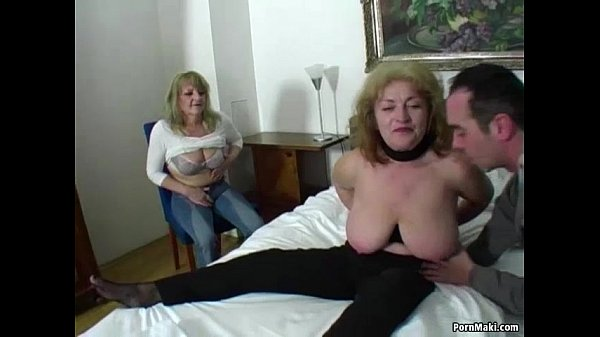 Download free lucky guy fucks two amazing grannies porn