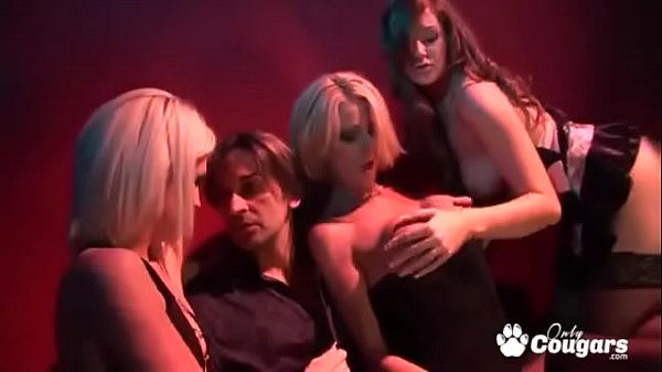 Three Sexy Strippers Get Ass Fucked In The Back...