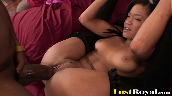 Petite Ebony Girl Can't Take A Monster Cock In Tight Pussy Thumb