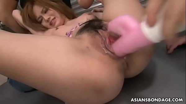 Slutty babe, Setsuna got fucked and creampied in the basement