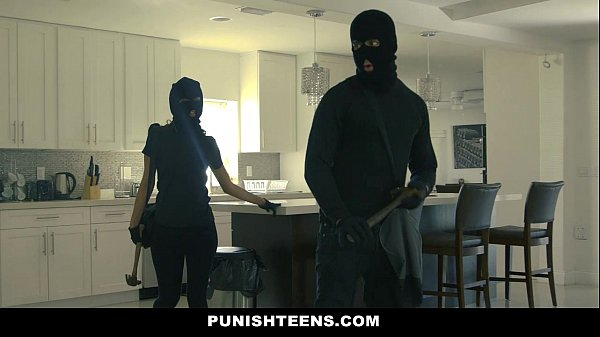 PunishTeens - Big Ass Thief (Sophia Leone) Hand...