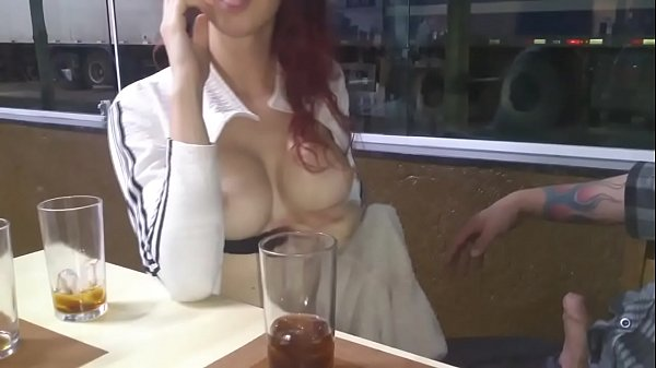 Two y. sucking their friend's cock inside a restaurant - Pernocas - Luccy Joplin Thumb