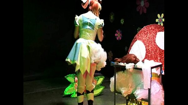 Straight Guy Sissy Maid Crossdressing Alice In Wonderland Humiliation