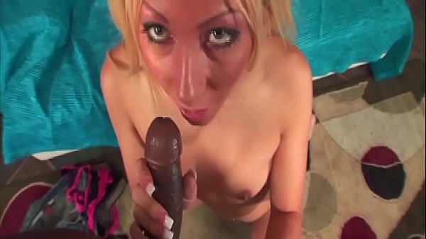 Whether black or white when fucking, they are all the same ... it gets really wet when the big cock fits in ... have fun