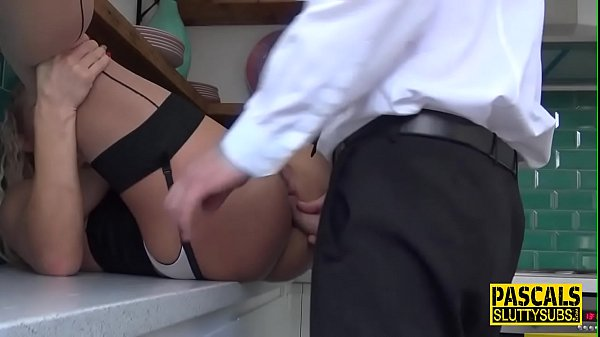Submissive whore blows Pascals cock