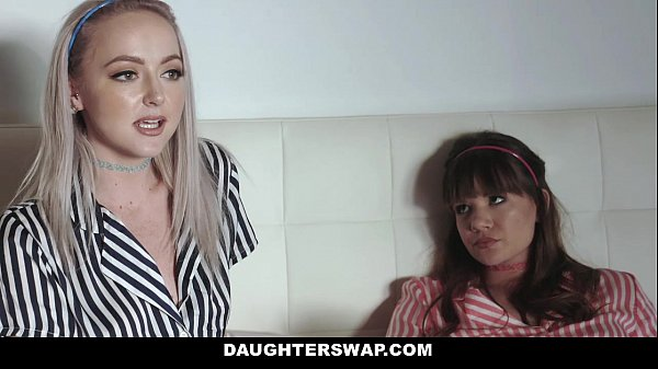 DaughterSwap - Teens (Alison Rey) (Iris Rose) fuck dads best friend during movie