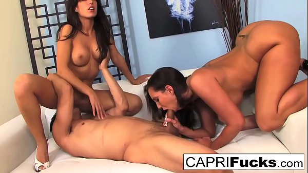 Capri Cavanni and Kelly Divine get fucked