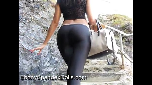 Awesome Candid Video Girl In Tight Ass Yoga Pants