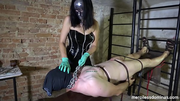 Mysterious Tormentor - Rough and Merciless Nipple Torture Thumb