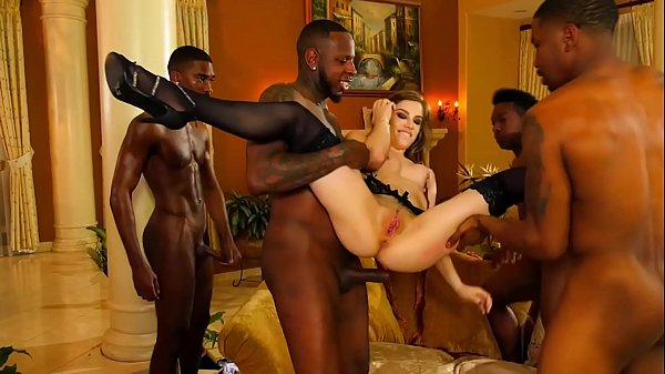 DevilsGangbangs Sexy Babe Gets Destroyed Hard B...