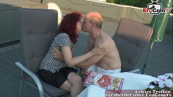 german private mature couple feel in love and w...