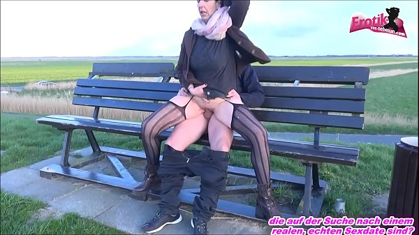 OLD GERMAN HOUSEWIFE FUCKET OUTDOOR FROM YOUNG BOY Thumb
