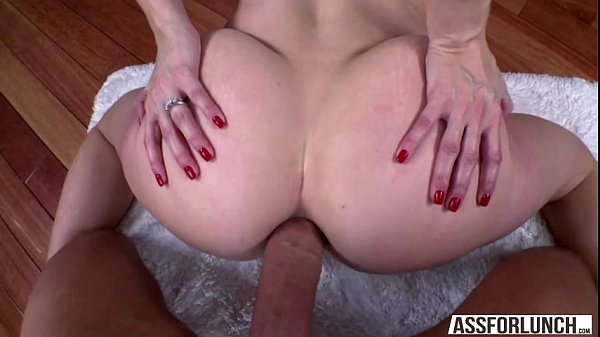 Blonde Ashley gets hammered in the ass by a monster dick