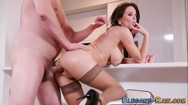 European milf ass riding