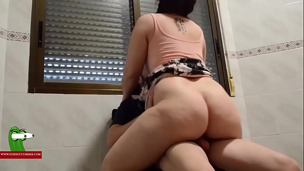 Hot fucked under the window with squirt include...