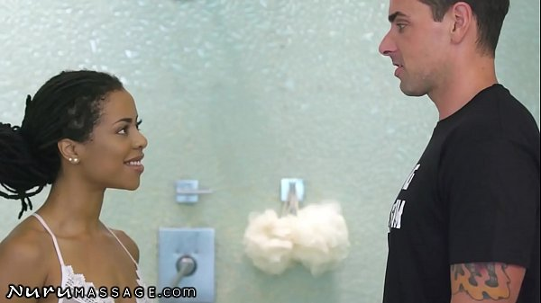 NuruMassage Smokin' Hot Kira Noir Gives Him The Best Thirsty Massage Before His Wedding