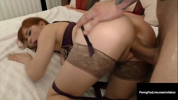 FireCrotch Fox Penny Pax Gets Cock In Mouth & T...